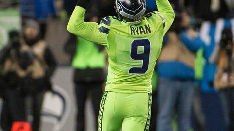 Jon Ryan, P, Seahawks (concussion): Active