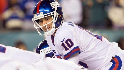 New York Giants: 8 wins (OVER)