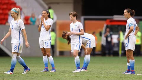 Was the Olympics a blip or reality catching up to the USWNT?