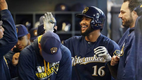 Domingo Santana (↑ UP)