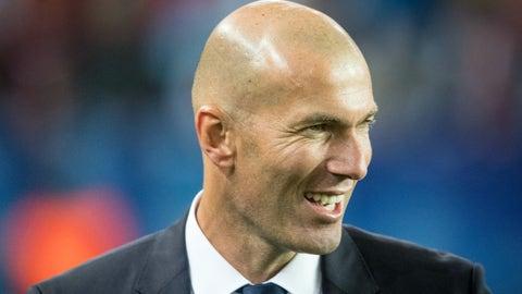 Zinedine Zidane's squad management