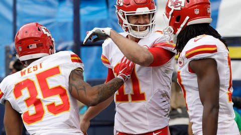 AFC: No. 2 Kansas City Chiefs (12-4) get bye