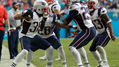 AFC: No. 1 New England Patriots (14-2) get bye
