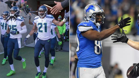 NFC: No. 3 Seattle Seahawks (10-5-1) vs. No. 6 Detroit Lions (9-7)