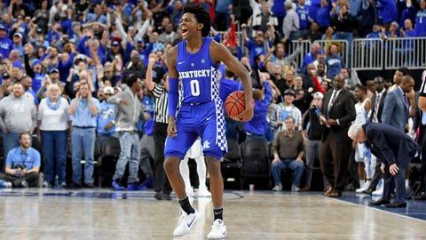 De'Aaron Fox, PG, Kentucky, freshman