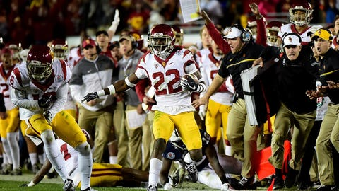 USC's defense makes the play of the year