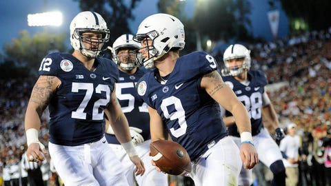 Trace McSorley and Sam Darnold: Most touchdowns responsible for (5)