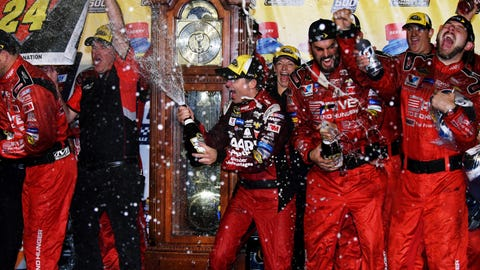 22 tracks where Jeff Gordon has won Cup Series races
