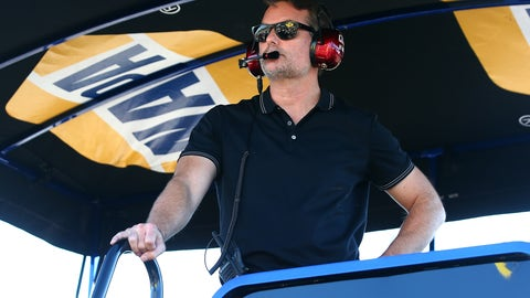 How would Jeff Gordon transition to the broadcast booth?