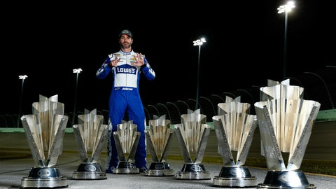 Could Jimmie Johnson win a historic seventh title?