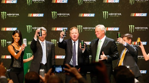 Who would be the new Cup Series title sponsor?