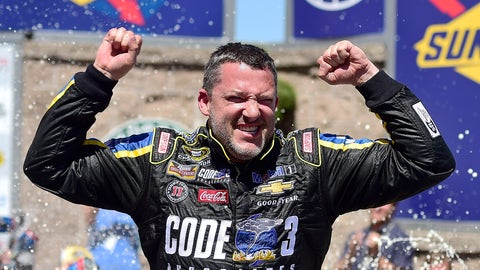 2016, Stewart makes Chase, retires
