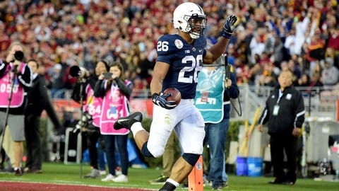 Barkley gives Penn State the lead in memorable fashion