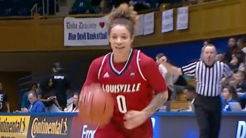 Louisville's women's basketball team played a neat trick on Duke