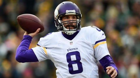 QB Sam Bradford, Vikings