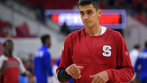 Omer Yurtseven, C, NC State, freshman