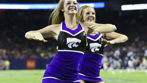 Kansas State cheerleaders