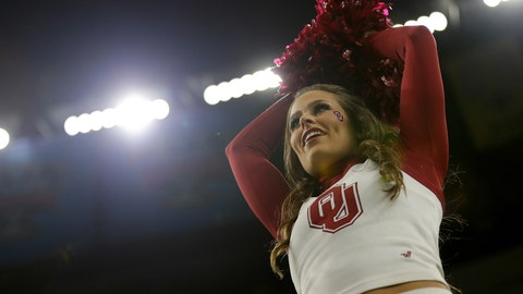 Oklahoma cheerleader