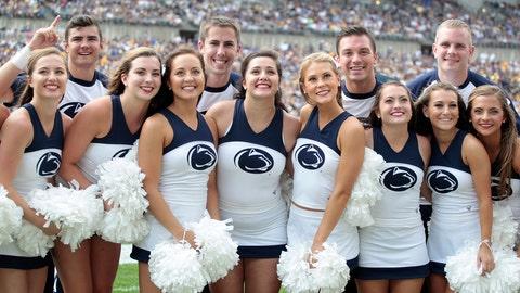 Penn State cheerleaders