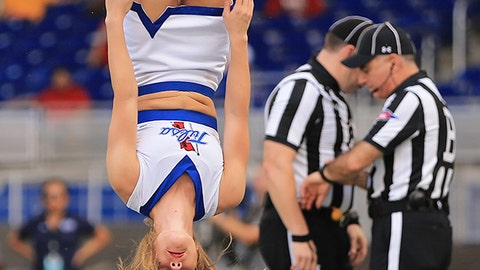 Tulsa cheerleader