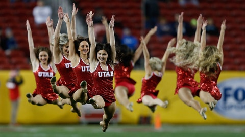 Utah cheerleaders