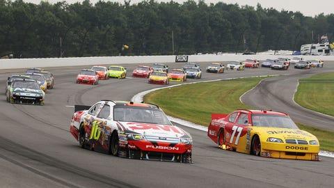 Pocono Raceway, 2012