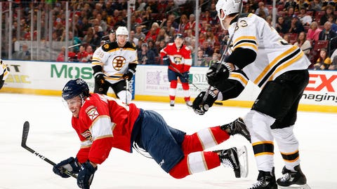 Tripping continued unabated in the NHL