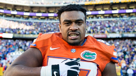Vikings: Caleb Brantley, DT, Florida