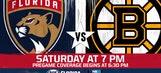 Boston Bruins at Florida Panthers game preview