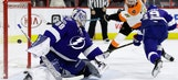Lightning overwhelmed by 4-goal 2nd period in loss to Flyers