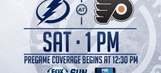 Tampa Bay Lightning at Philadelphia Flyers game preview