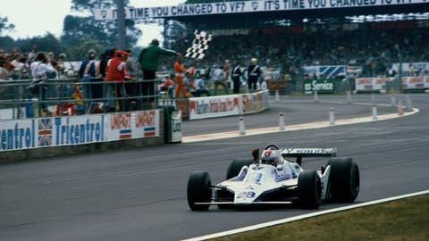 Williams' first win