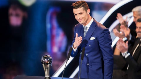 Real Madrid: Ronaldo's out of gel