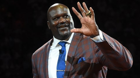 Shaquille O'Neal, Hall of Fame
