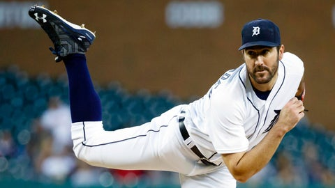 Tigers: Justin Verlander