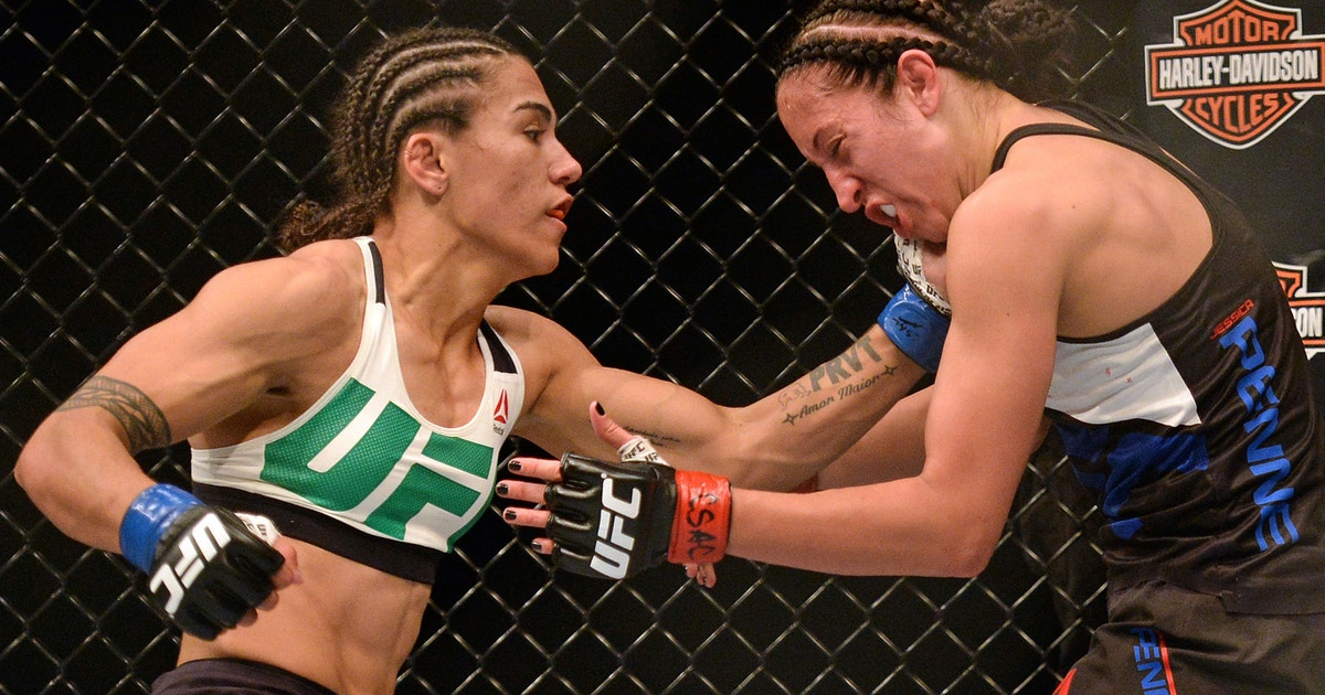 Jessica Andrade Shows No Fear Ahead Of Potential Fight
