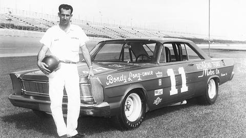 Ned Jarrett, two-time champion