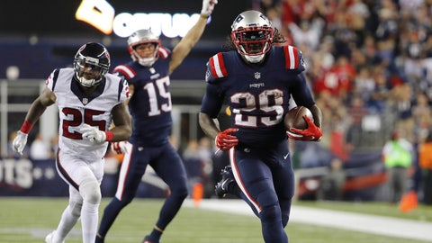 The Patriots will move to 2-0 against the Texans