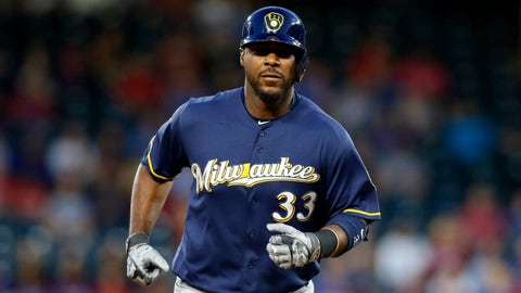 Brewers: Chris Carter