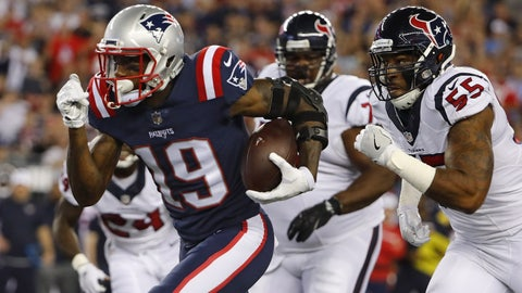 Malcolm Mitchell, WR, Patriots