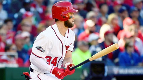 Bryce Harper will hit a career high .330+