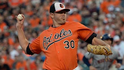 Chris Tillman, Orioles