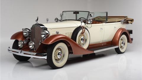 1933 Packard Super 8 Touring 5/7 passenger