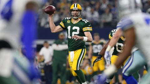 Aaron Rodgers' crafty trickery