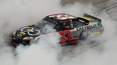 Bowyer gets RCR 100th Cup Series win