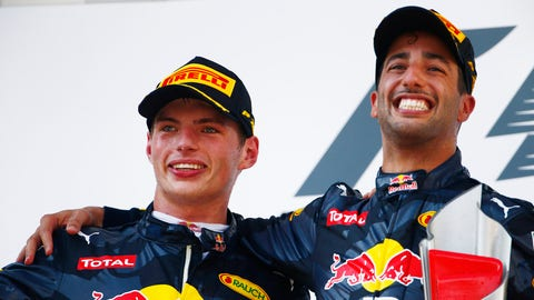 Red Bull Racing - Max Verstappen and Daniel Ricciardo