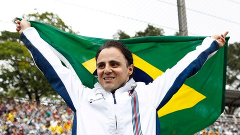 Felipe Massa will race again for Williams in 2017. (Photo: LAT Photographic)