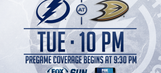 Tampa Bay Lightning at Anaheim Ducks game preview