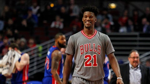 Frontcourt: Jimmy Butler, Chicago Bulls