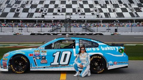 Danica Patrick's Daytona 500 paint schemes and results
